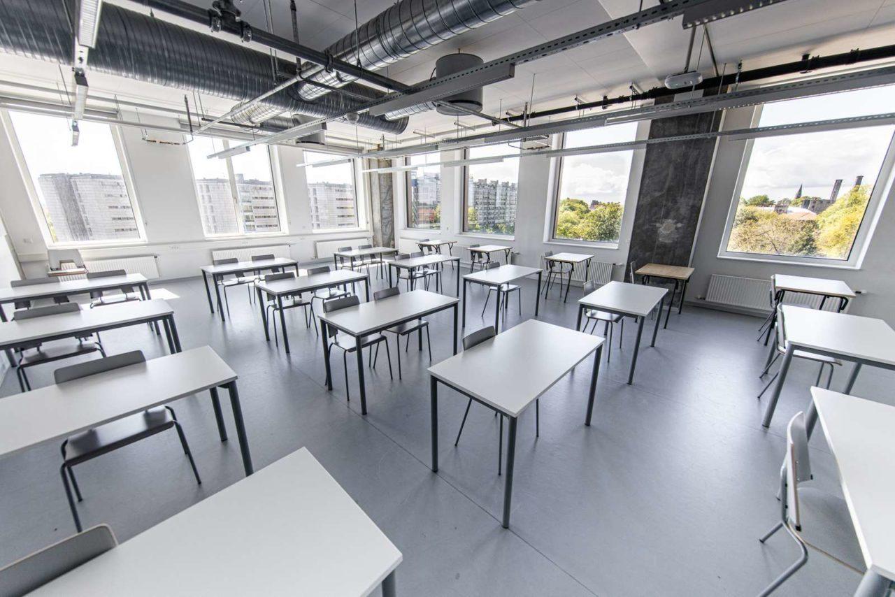 Undervisningslokale på Humletorvet 3
