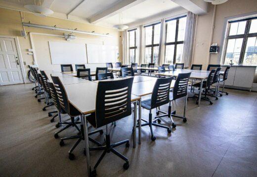 Undervisningslokale på Nyelandsvej 27-29