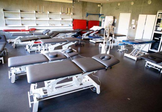 Fysioterapi praksisrum på Sigurdsgade 26