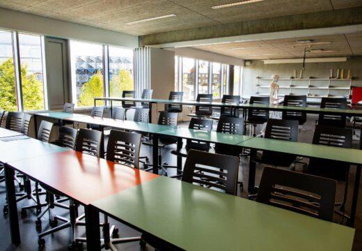 Undervisningslokale på Sigurdsgade 26