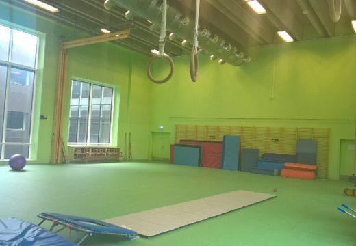 Grøn gymnastiksal W4.16 Humletorvet 3