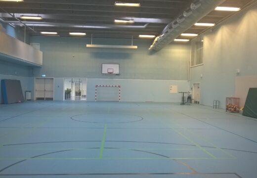 Blå idrætssal W6.12 Humletorvet 3