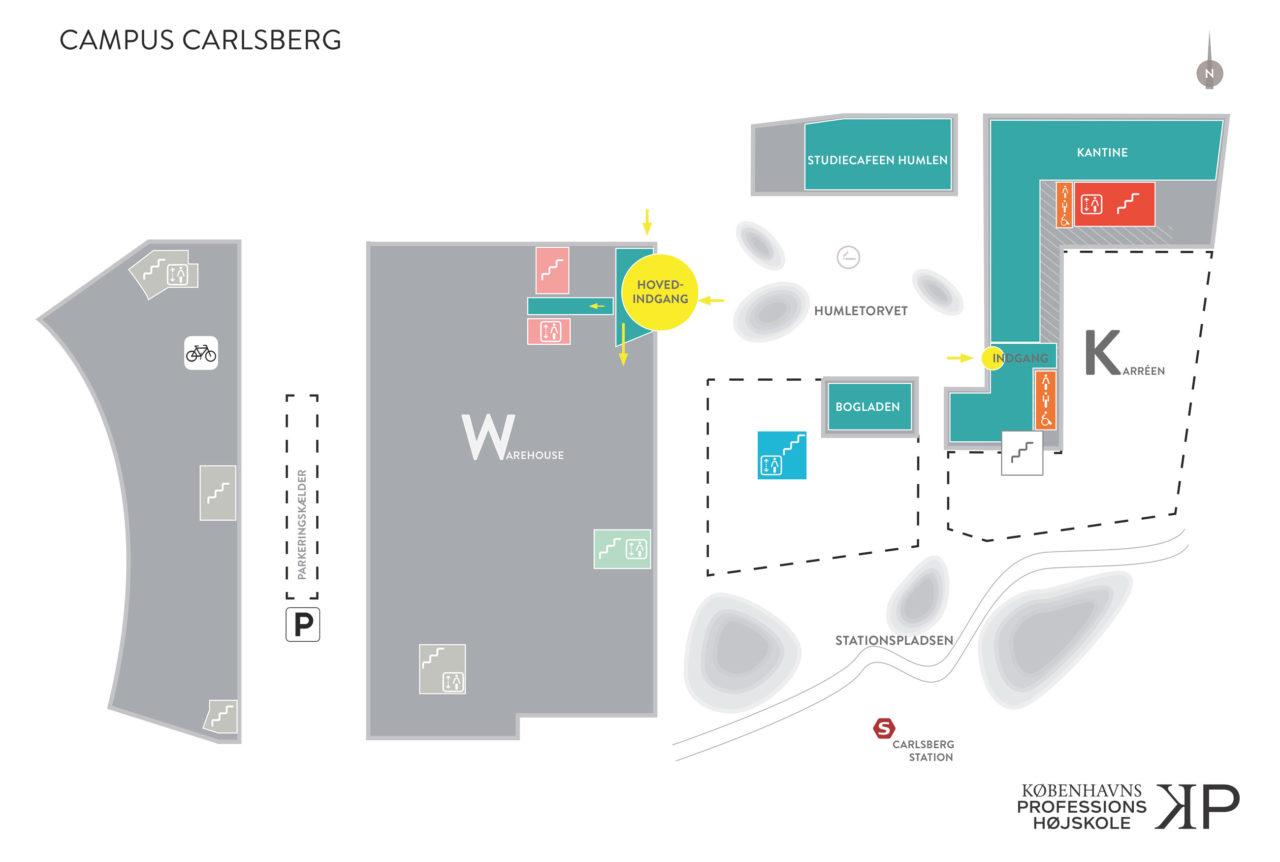 Bygningsomrids Campus Carlsberg