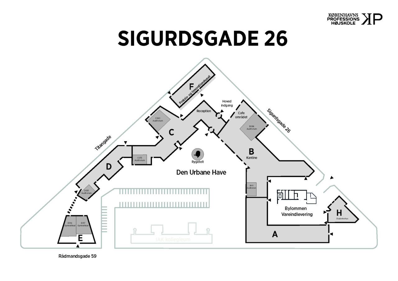 Sigurdsgade 26 bygningsomrids