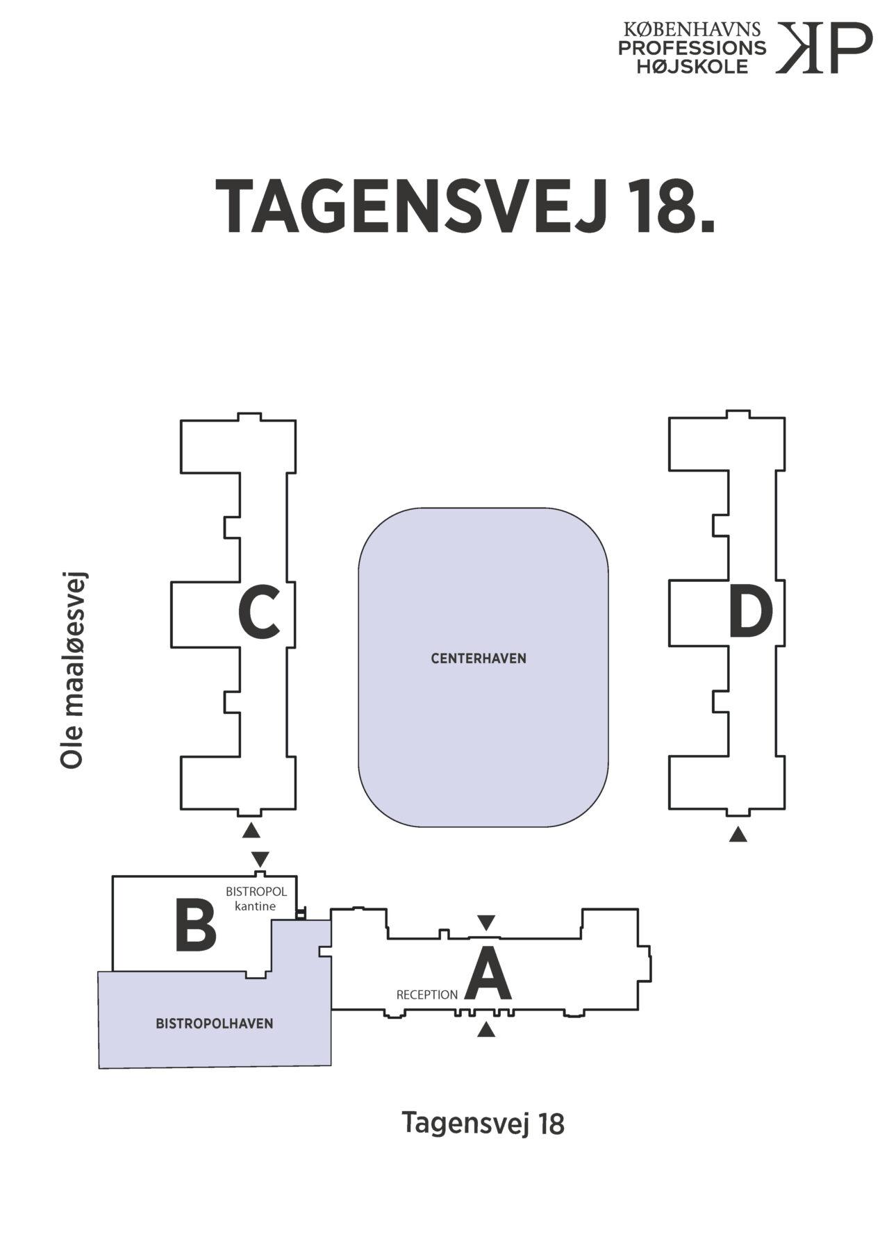 Bygningsomrids Tagensvej 18